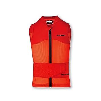 new style 12b0b 44525 Atomic Kinder Ski-Protektor-Weste Live Shield Vest Jr, rot