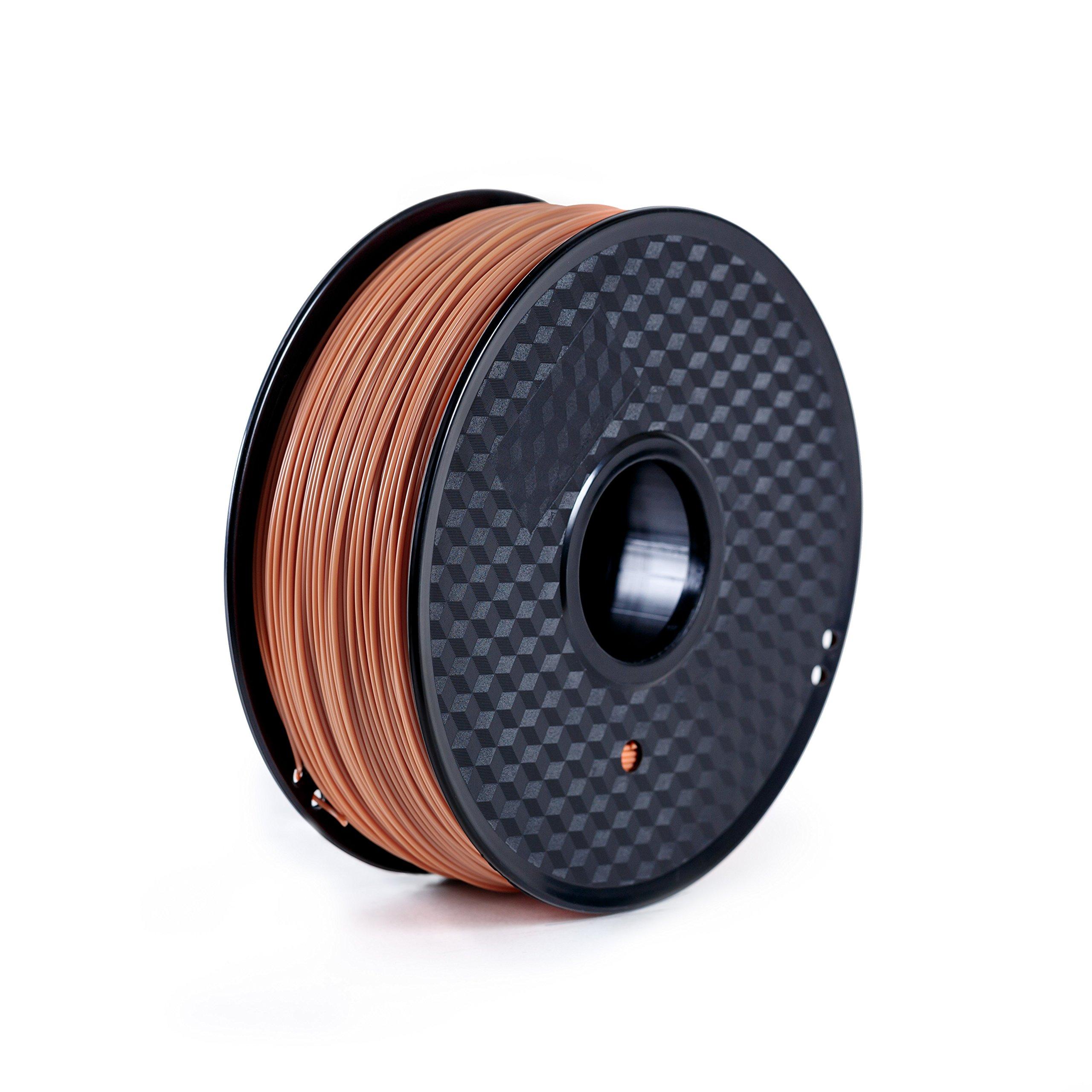 Paramount 3D PLA (PANTONE Terra Cotta 7591C) 1.75mm 1kg Filament [BRRL30127591C]