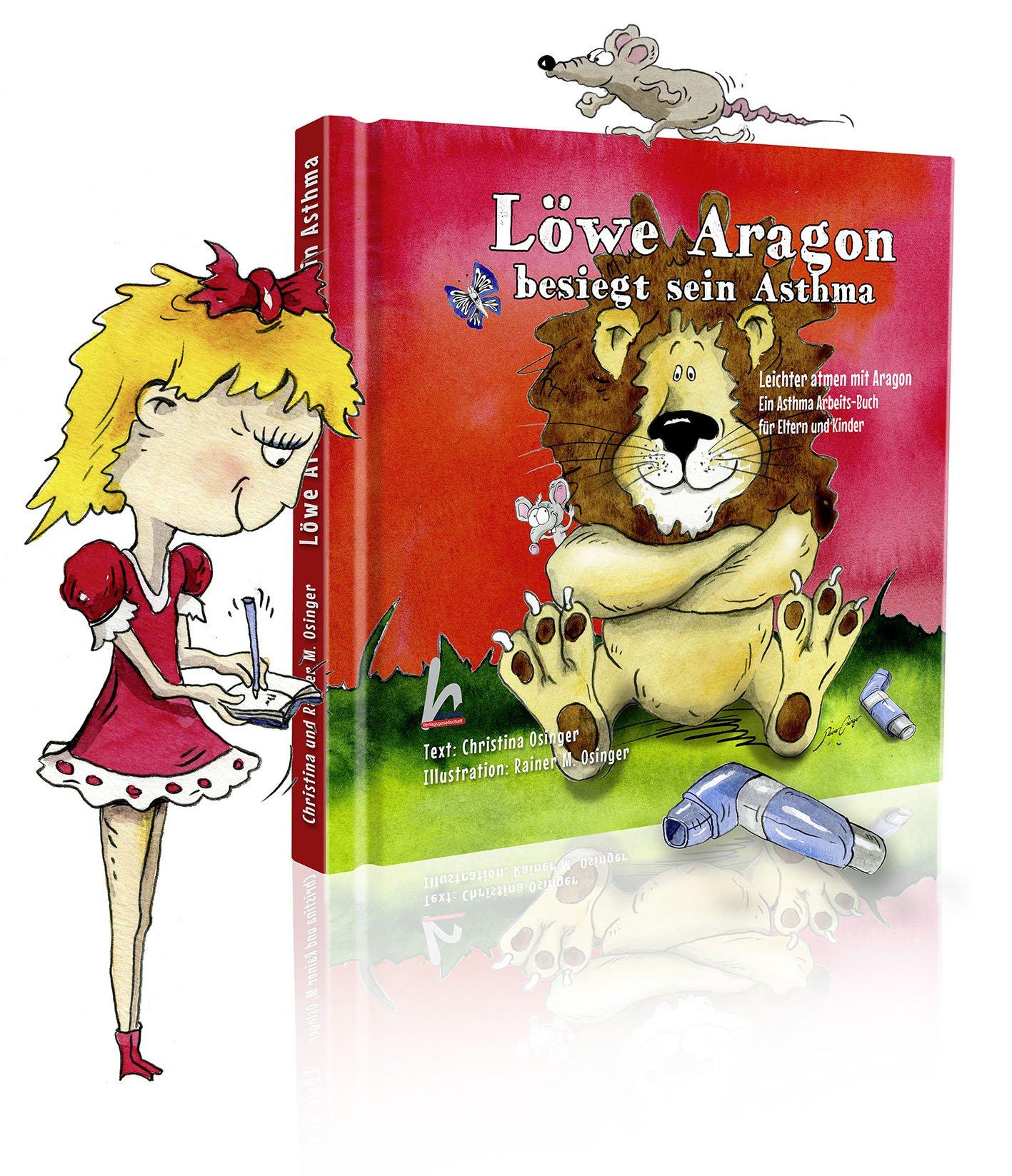 Löwe Aragon besiegt sein Asthma