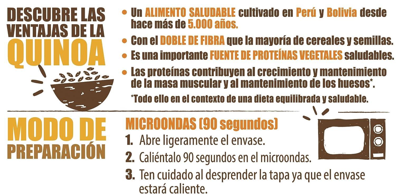 Brillante Benefit Cous Cous Quinoa Verduras 225G - [Pack De 16] - Total 3600 Gr: Amazon.es: Alimentación y bebidas