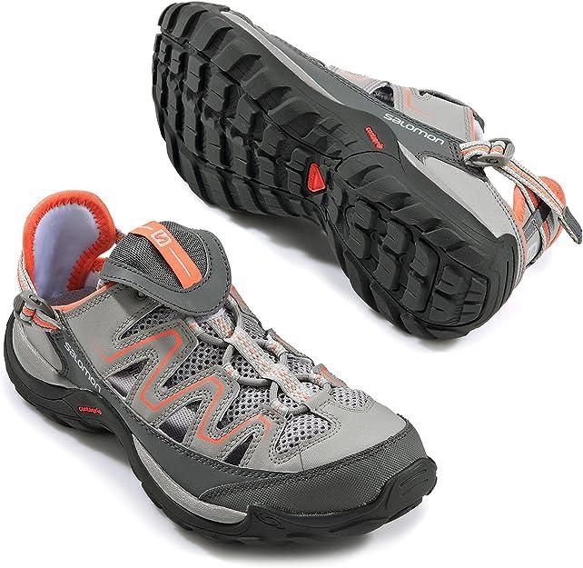 SALOMON Cuzama hellgrau, Da. Schuhe 42: : Schuhe