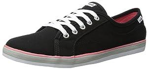 Keds Women's Coursa LTT Fashion Sneaker, Black, 6 M US