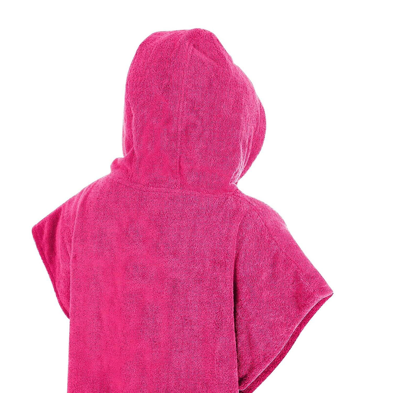 Adore Poncho de Changement de Plage pour Enfants pour Natation et Surf Unisexe /à Capuche en Tissu /Éponge avec Poche 100/% Coton