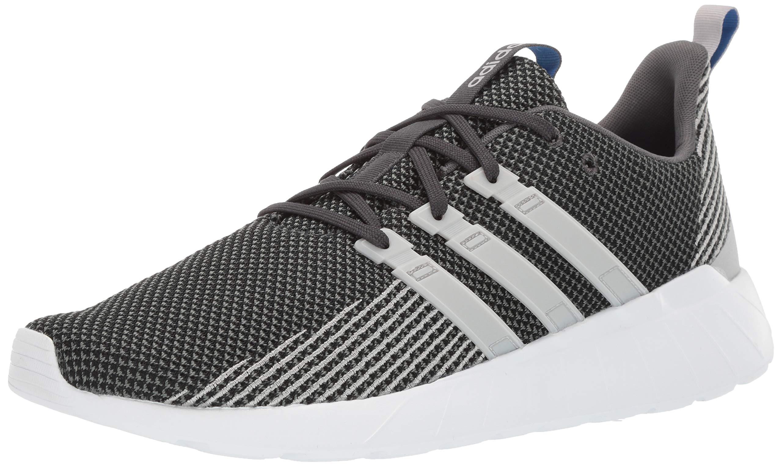 adidas Men's Questar Flow Running Shoe, Grey/True Blue, 11 M US by adidas