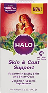 product image for Halo Natural Supplements for Dogs, 3.5-Ounce Bottle