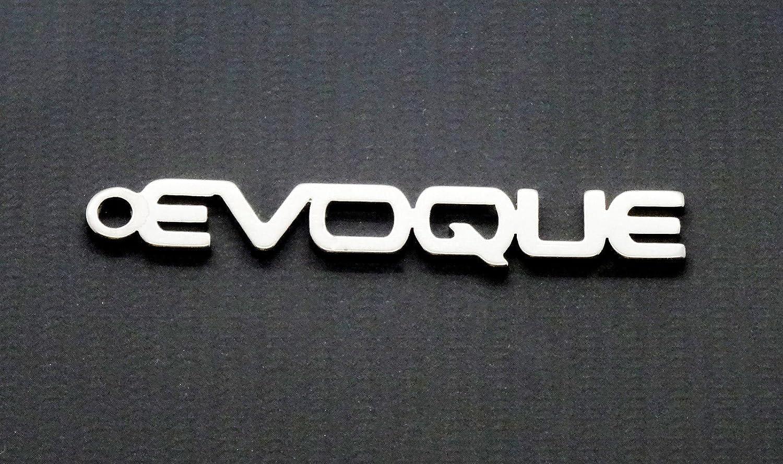 Evoque - Llavero con logotipo de Range Rover Evoque: Amazon ...