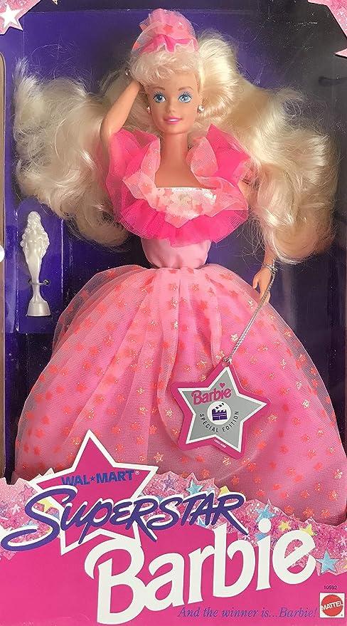 Amazoncom Barbie Superstar Doll Walmart Special Edition 1993