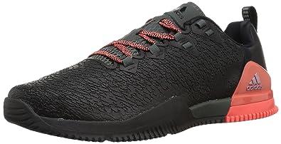 fa5e299dd64 adidas Women s CrazyPower TR W Cross Trainer Black RED Night Easy Coral 6  Medium