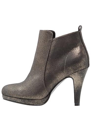 Anna Field Plateau Ankle Boots Damen - Stiefeletten mit Absatz in Gold, 37