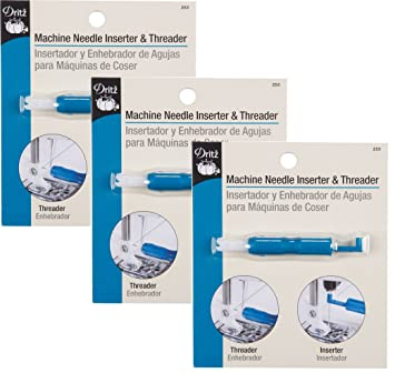 Dritz Machine Needle Inserter and Threader (3 Pack)