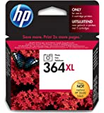 HP 364XL Foto-schwarz Original Druckerpatrone mit hoher Reichweite für HP Deskjet, HP Officejet, HP Photosmart
