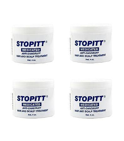 – Set of 4 Stopitt 4 oz. Medicated Anti Dandruff Hair and Scalp Treatment bundled by Maven Gifts