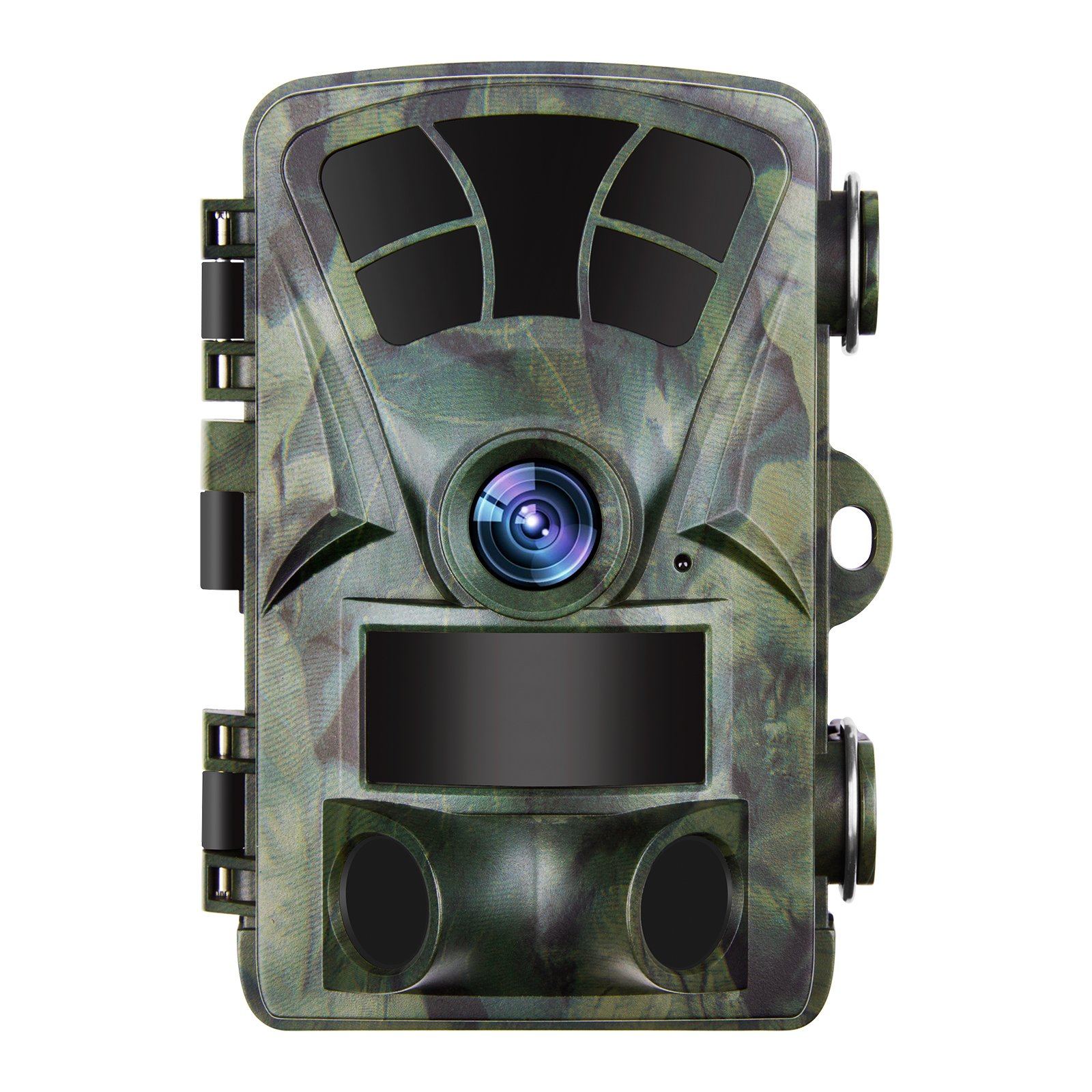 D&F Trail Camera 1080P Surveillance Cam Hunting Camera,2.4'' TFT LED Display 120° PIR Sensor Lens Water resistant Night Vision for Game & Hunting & Home Security by D&F