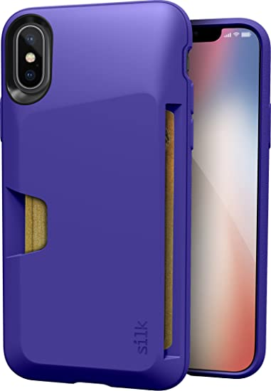 Giveaway iphone x case wallet purple