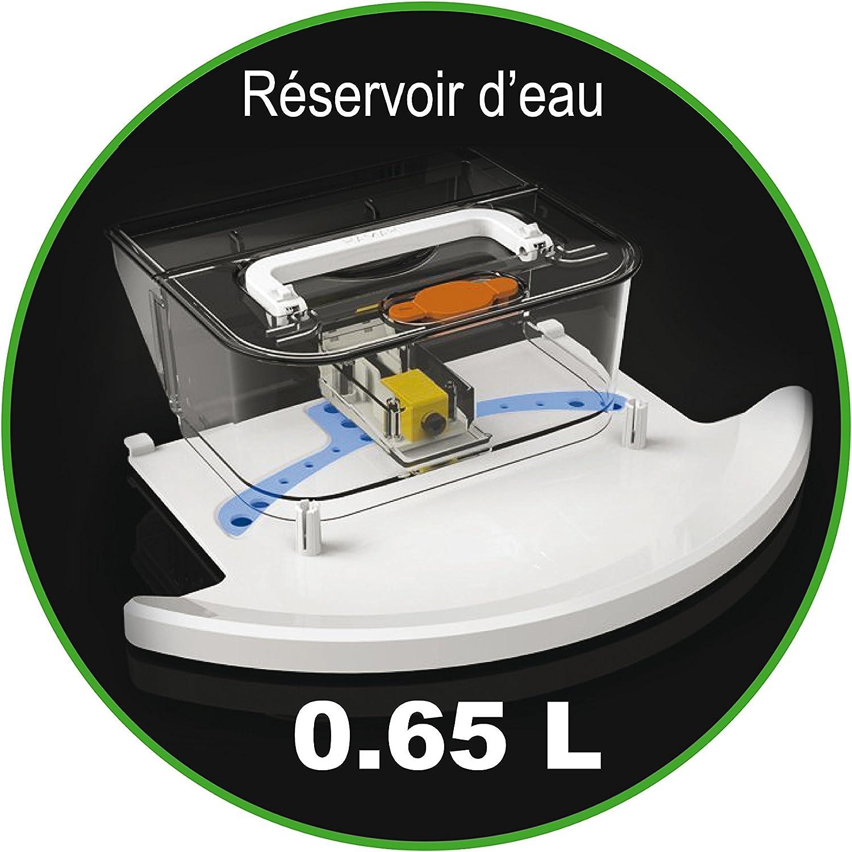 ROBUSTA « TOUCH BOT » LE ROBOT ASPIRATEUR LAVEUR 7 EN 1