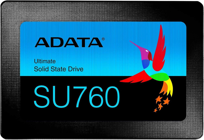 ADATA SU760 1TB 3D NAND 2.5 Inch SATA III Internal SSD (ASU760SS-1TT-C)