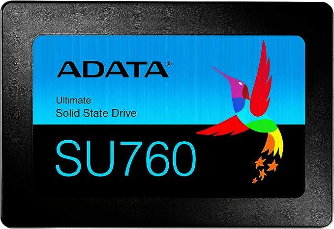 Amazon.com: ADATA SU760 512GB 3D NAND 2.5 Inch SATA III Internal SSD (ASU760SS-512GT-C): Computers & Accessories