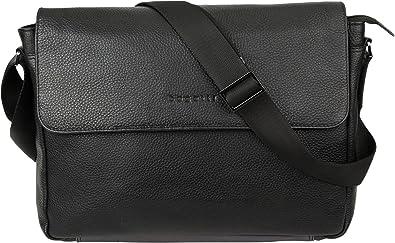a0d2d4ee55b89 bugatti Citta Messengerbag Schwarz  Amazon.de  Schuhe   Handtaschen