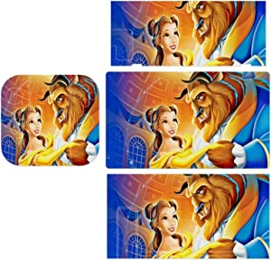 Fantasy B-eauty Be-AST Stickers Decals Cover for Switch Lite Gaming Skin Compatible for Switch Controller,Durable Full Set Wrap Protective Faceplate Console