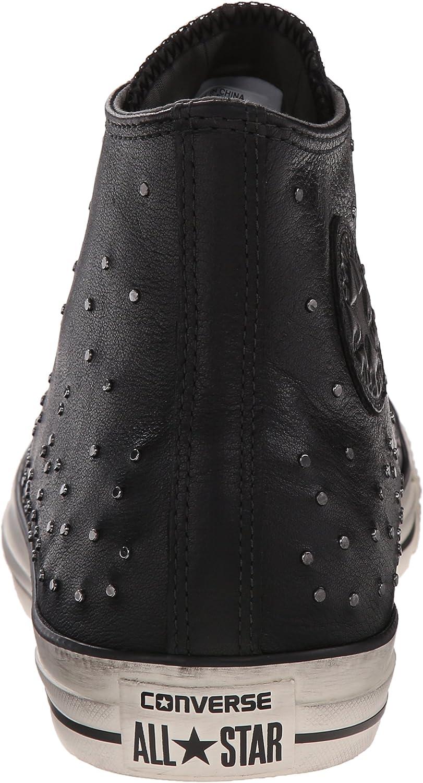 Converse X by John Varvatos Mini Studded Leather Hi Chuck Taylor BLACK 151295C