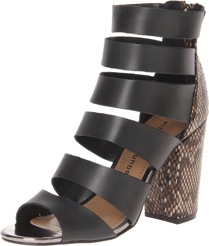 Chinese Laundry Women's Bonafied Platform Sandal B00F9THR30 10 B(M) US|Black/Black