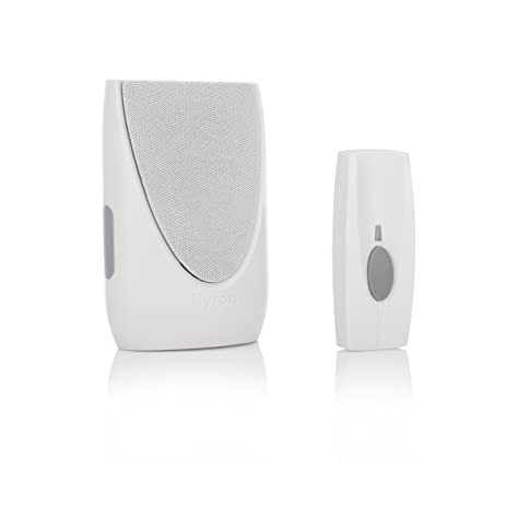 Byron Sentry BY202 100m Wireless Plug-In Door Chime Kit with 6 Sounds  sc 1 st  Amazon.com & Amazon.com: Byron Sentry BY202 100m Wireless Plug-In Door Chime Kit ...