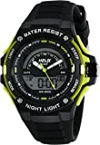 Helix Analog-Digital Black Dial Unisex Watch - TWESK0304