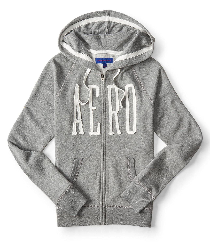 44d9e533637f Aeropostale NY Women s Full-Zip Hoodie Sweatshirt at Amazon Women s Clothing  store