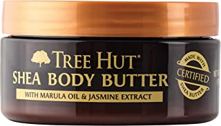 product image for Tree Hut 24 Hour Intense Hydrating Shea Body Butter, Marula and Jasmine, 7 Ounce (Pack of 3)