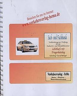 sach und fachkunde vorbereitung zur prfung bei der ihk fachrichtungtaxi und mietwagen - Taxi Und Mietwagen Prufung Muster