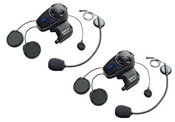 8101093f158 Sena SMH10D-11 Motorcycle Bluetooth Headset/ Intercom with Universal  Microphone Kit (Pack of