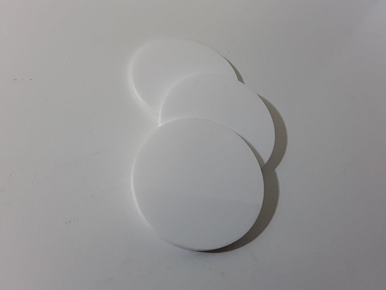 Laser Cut Green Acrylic Circles 25mm to 100cm Diameter Packs of 10 25mm