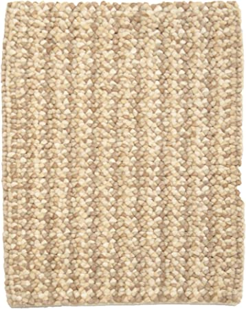 Amazon Com 2 X 3 Pebbles Plush Felted Wool Shag Small Rug By
