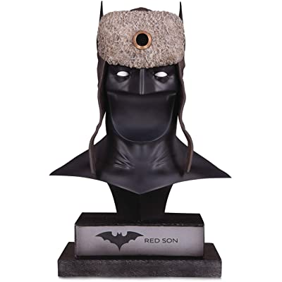 DC Gallery: Red Son Batman Cowl: Toys & Games