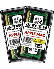 A-Tech 8GB Kit (2x4GB) PC3-12800 DDR3 1600MHz SODIMM Memory ram Upgrade for Apple MacBook Pro Mid 2012 13/15 inch, iMac Late 2012 Early/Late 2013 Late 2014 Mid 2015 21.5/27 inch, Mac Mini Late 2012