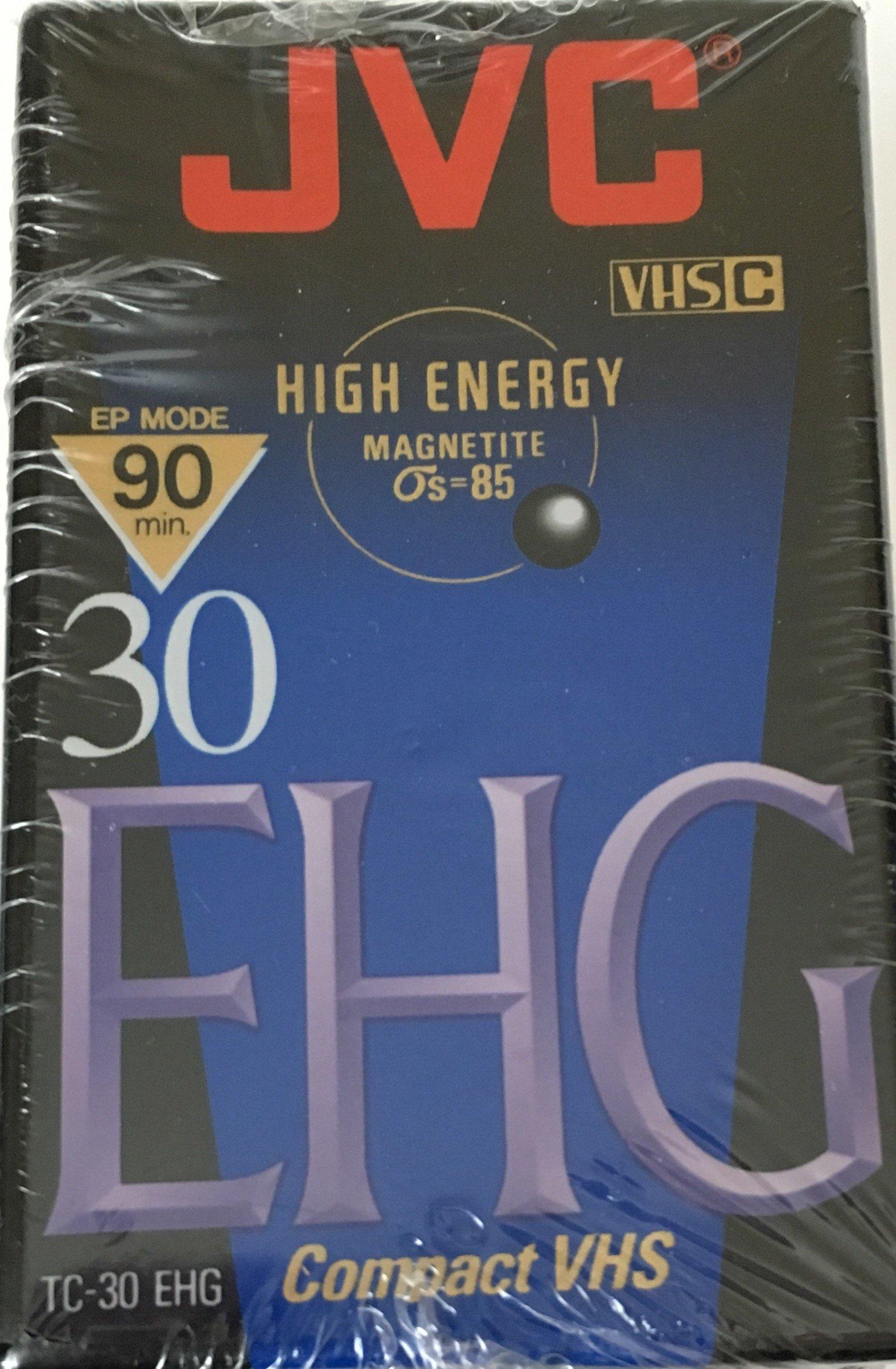 JVC EHG (Extra High Grade Compact) 30 VHS C 4 Pack by JVC