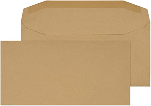 110 mm x 220 mm Self Seal Colour Business DL Envelopes Metallic Gold DL