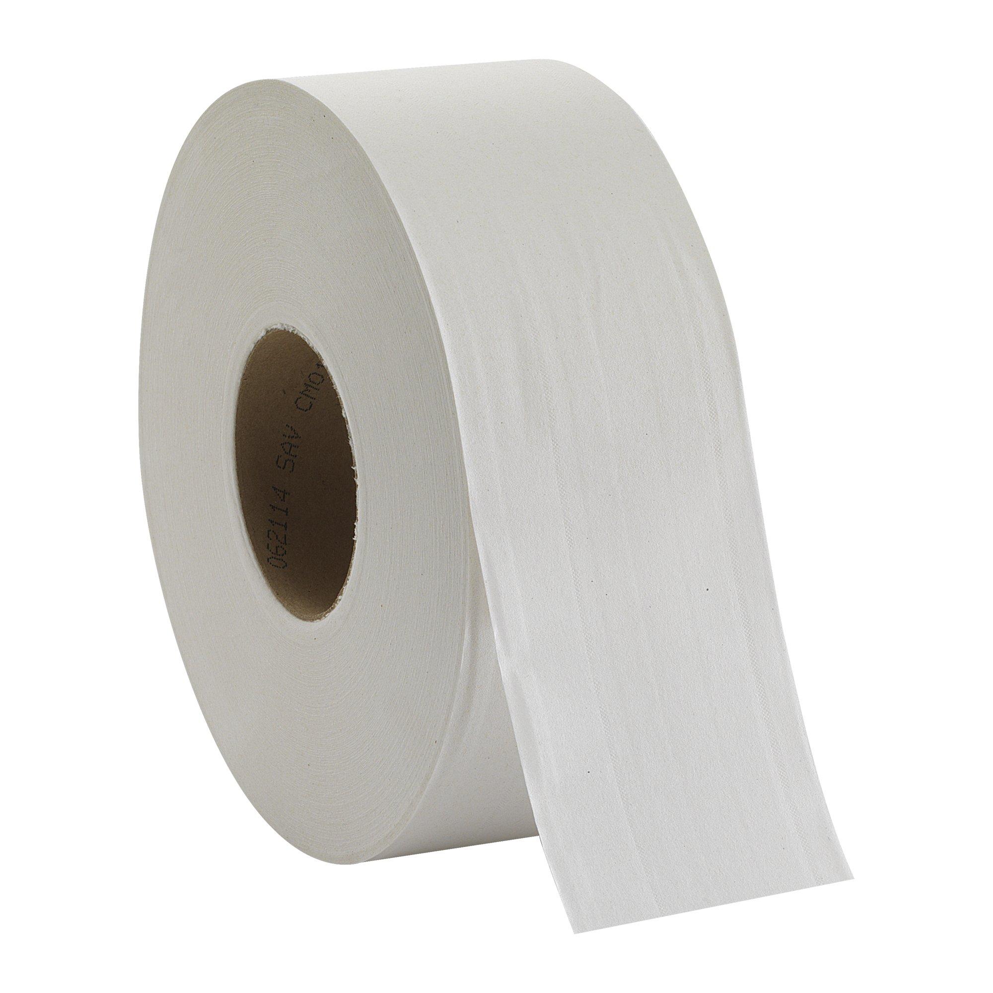 Georgia Pacific Professional 12798 Jumbo Jr. Bathroom Tissue Roll, 9'' dia, 1000ft (Case of 8 Rolls)