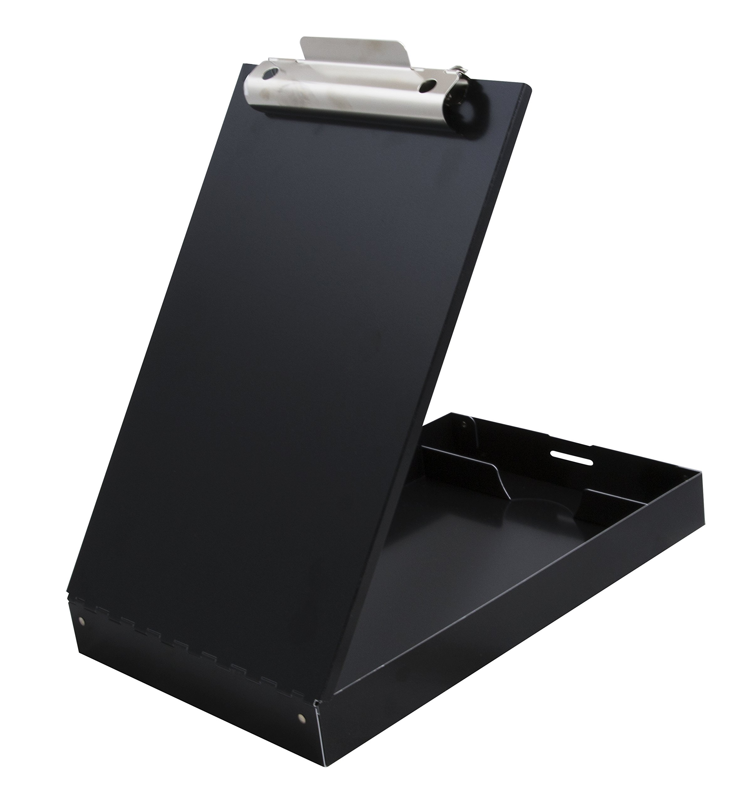 Saunders Redi-Rite Recycled Aluminum Storage Clipboard - Black - Letter Size (11018)