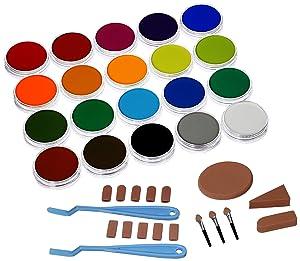 Panpastel Ultra Soft Artist Pastel Painting Set, 20-Pack