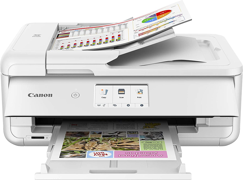 Canon Pixma TS9551C - Impresora multifunción, 4800 x 1200 PPP, LCD ...