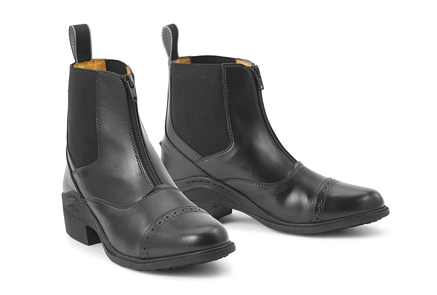 Brown 8 B(M) US Brown 8 B(M) US Ovation Ladies Synergy Front Zip Paddock Boots