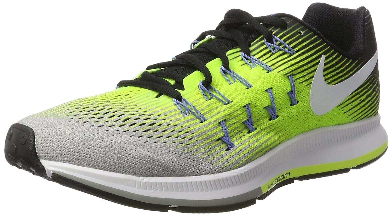 MultiColor (plata Matt blanco Volt negro) Nike Air Zoom Pegasus 33, Hauszapatos de Running para Hombre