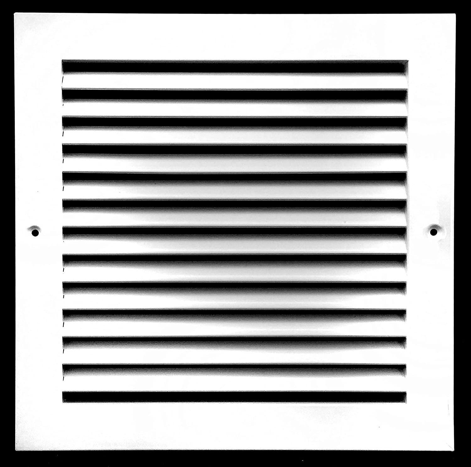 """Flat Stamped Face HVAC Dcut Cover Easy Air FLow 16w/"""" x 12h/"""" RETURN GRILLE"""