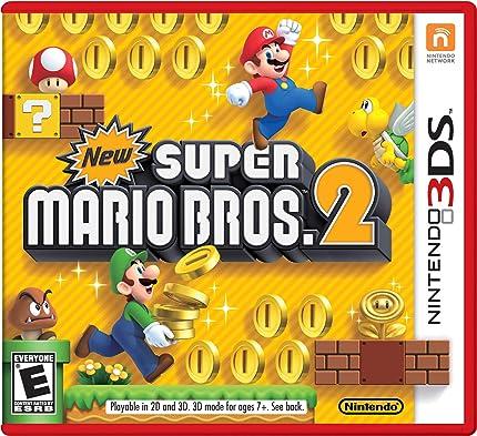Amazon com: New Super Mario Bros  2: Nintendo of America