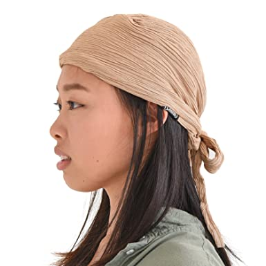 91c6e97778d667 CHARM Pirate Hat Head Scarf - Turban Bandana Cap Boho Scarf Chic Womens  Mens Adult Pirate