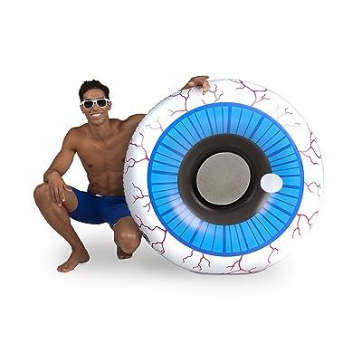 BigMouth Inc. Giant Inflatable Eyeball Pool Float, Fun Swim Toy: Toys & Games