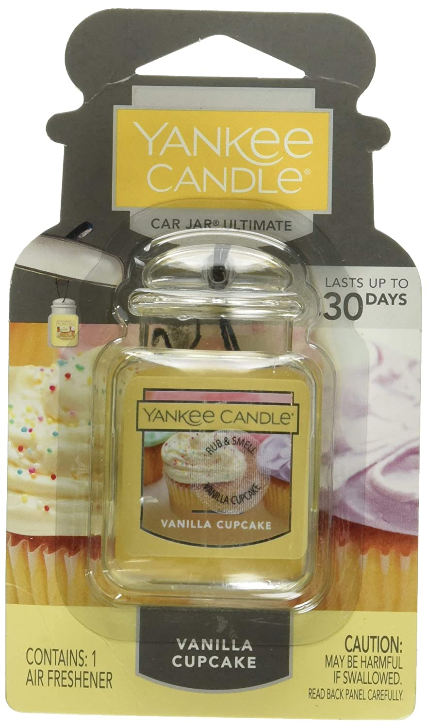 Yankee Candle Car Jar Ultimate, Vanilla Cupcake
