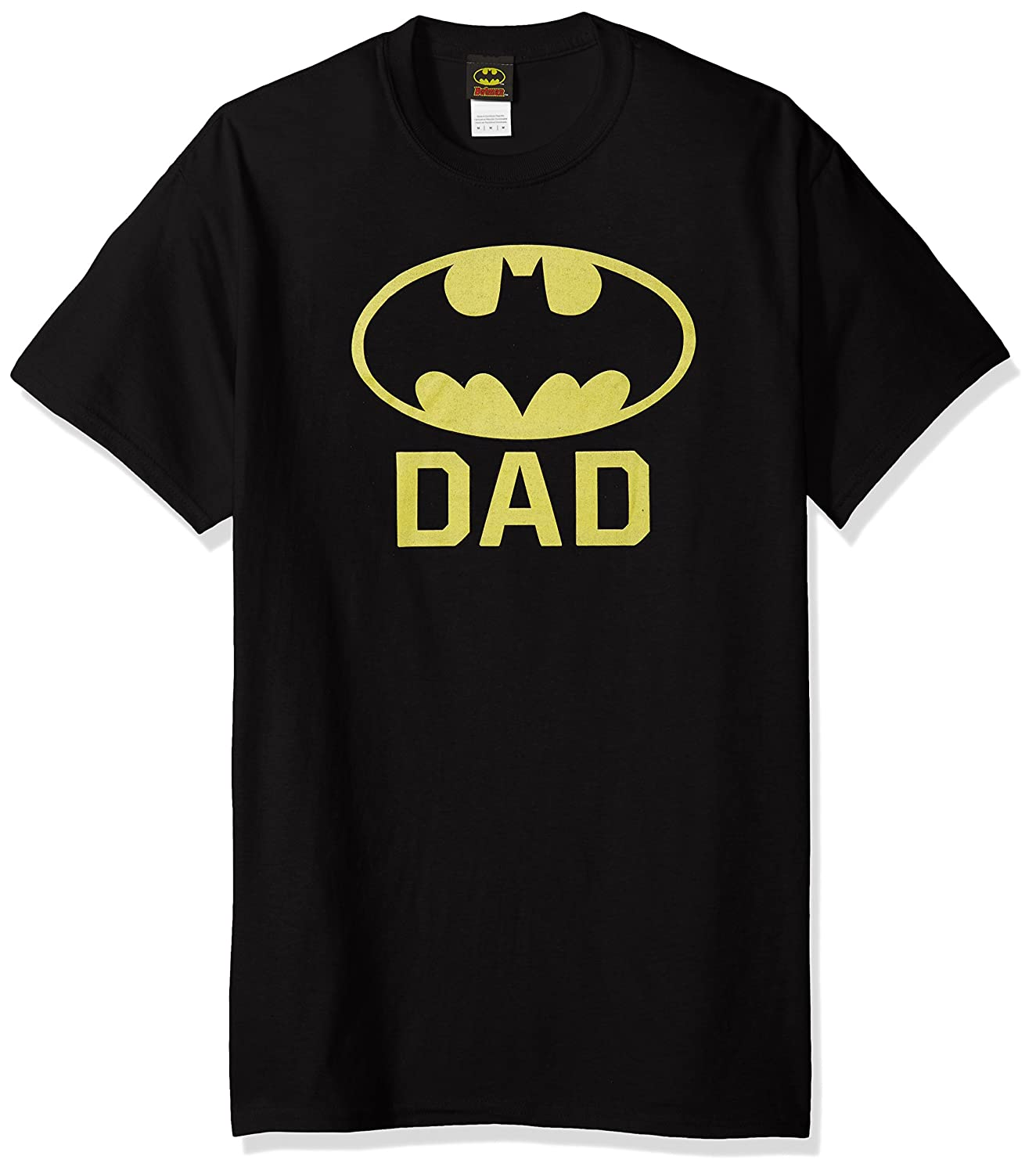 DC Comics Mens Batman Bat Dad T-Shirt Trevco Child Code BM2606-AT