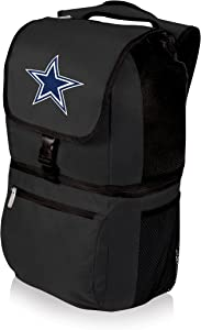 PICNIC TIME NFL Zuma Insulated Cooler Backpack, Dallas Cowboys , Black